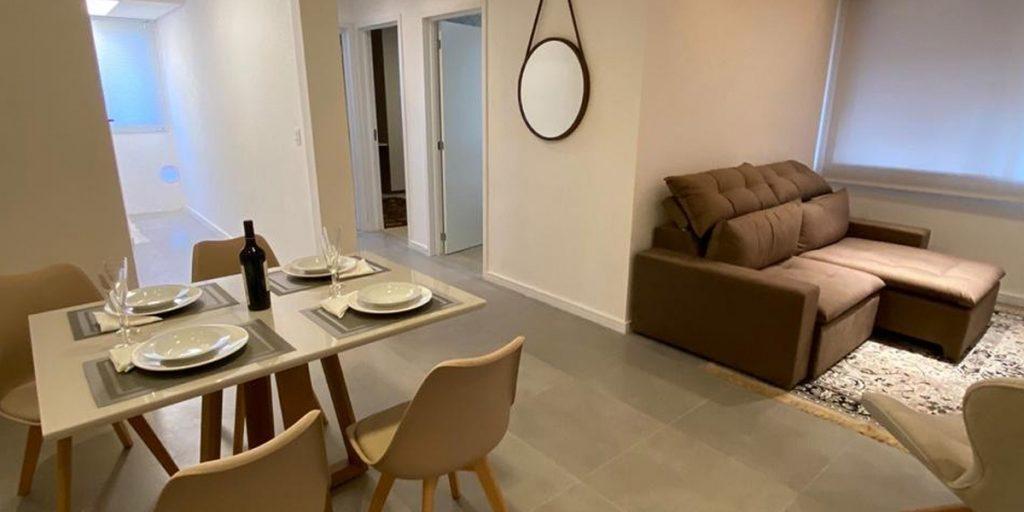 Apartamento Hera Residencial - Sala de Jantar