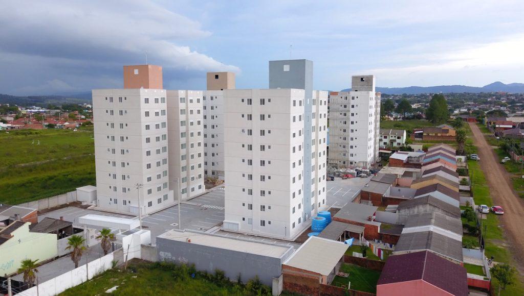 Condomínio Hera Residencial - Vista Lateral
