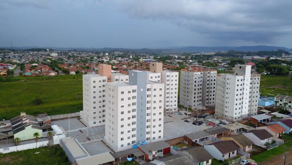 Hera Residencial - Condomínio - Vista Lateral Esquerda